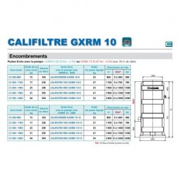 CALIFILTRE1100 GXRM 10-9