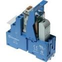 Bloc relais 230 V/AC 10 A 2 inverseurs