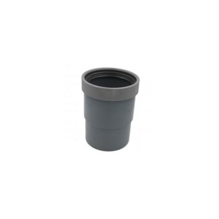 Manchon de dilatation D100 mm eaux usées. Tuyau horizontal ou vertical.