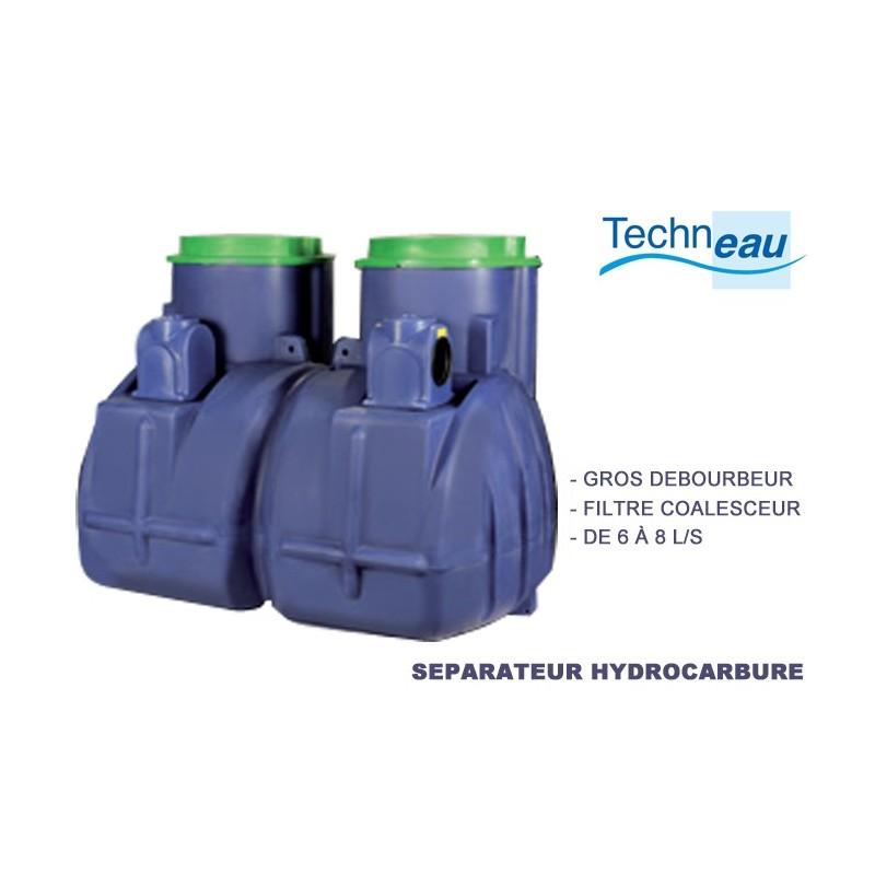 Débourbeur / séparateur 8 l/s