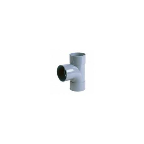 T diam 100 mm Femelle / Femelle / Femelle