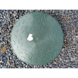 Couvercle de regard sotralentz D320 mm, plein, non perforé, avec joint anti-odeur