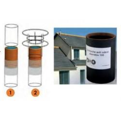 Cartouche filtrante anti-odeur 100 mm